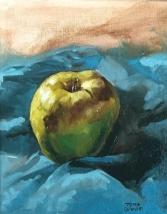 Oil on canvas 8x10
