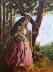 9x14 Oil on canvas panel