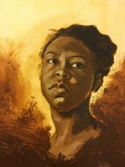 """""""Alla Prima Self Portrait"""" - oil on canvas 8x10"""