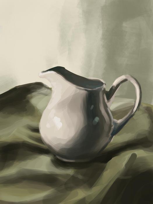 still life pot