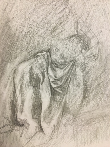 Study after Caravaggio