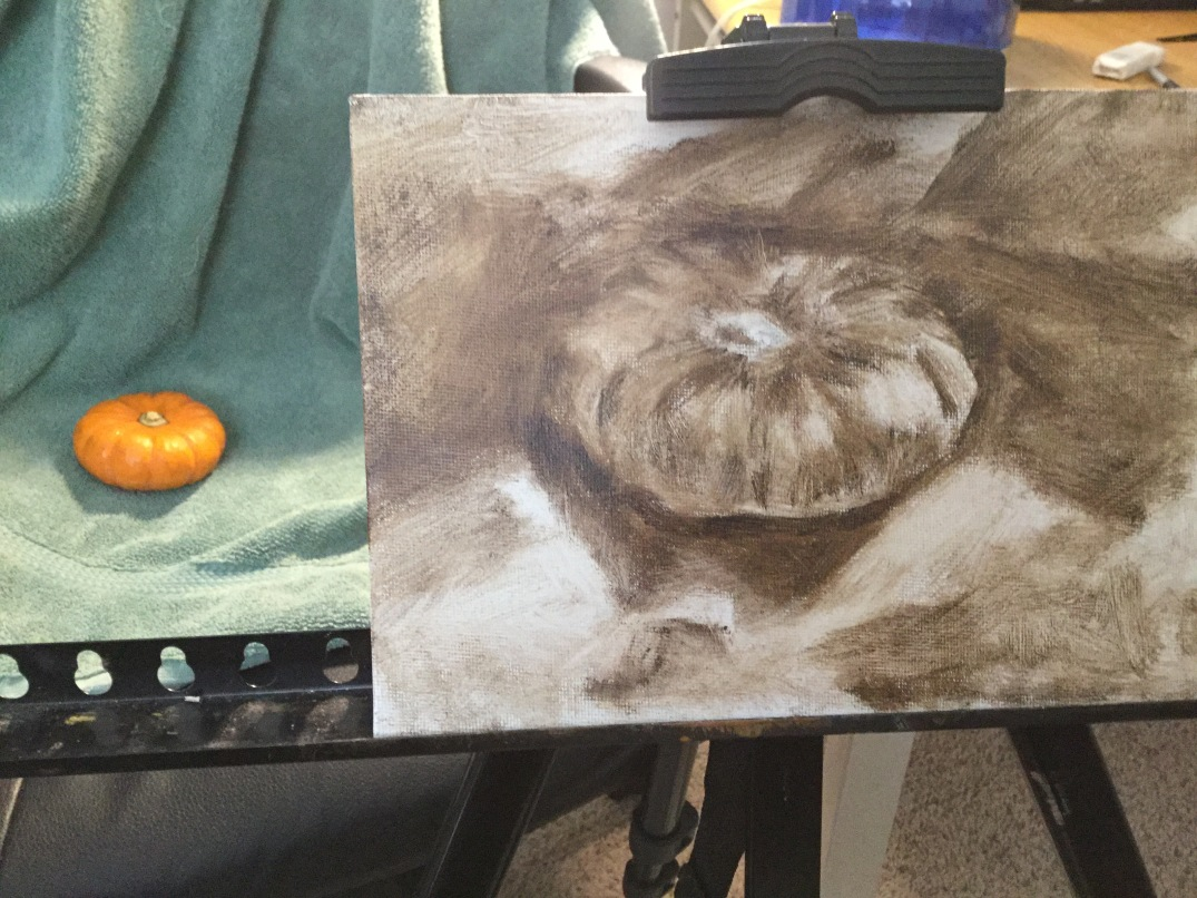 Underpainting block in